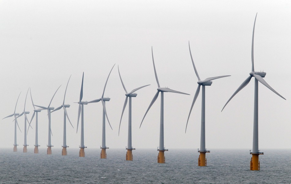 Atlantic Array have said they will now reduce the number of wind turbines in the Bristol Channel from 417 to 188. (Reuters)