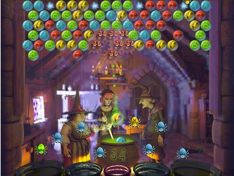 Bubble Witch Saga screen king
