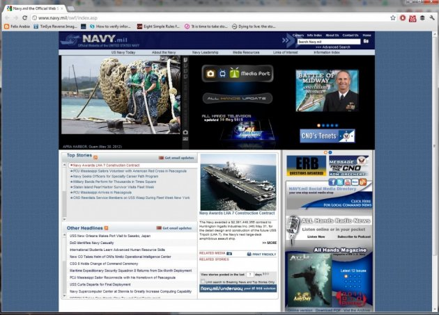 Hacker Comrade Attacks US Navy Website and Leaks Personal