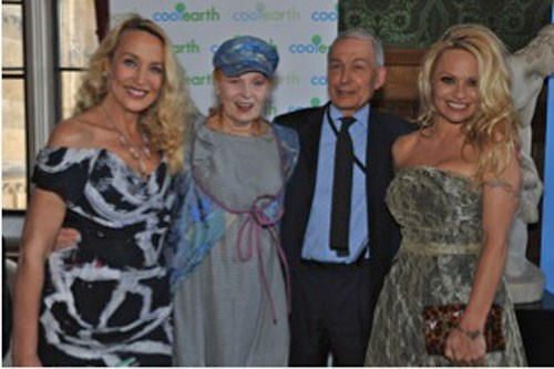 Vivienne Westwood and Pamela Anderson Works to Protect Rainforests
