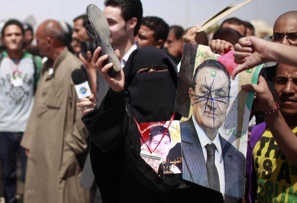 Hosni Mubarak convicted