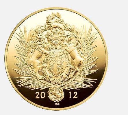 The Queen's Diamond Jubilee Gold Kilo Coin