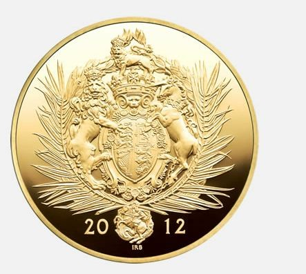 The Queen's Diamond Jubilee Gold Kilo Coin
