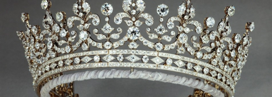 Queen Mary's Girls of Great Britain and Ireland Tiara, 1893. (Photo: The Royal Collection)