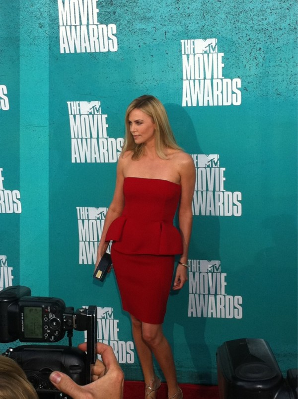 2012 MTV Movie Awards Red Carpet Arrivals
