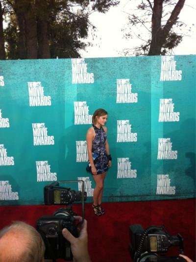 2012 MTV Movie Awards Red Carpet Arrivals