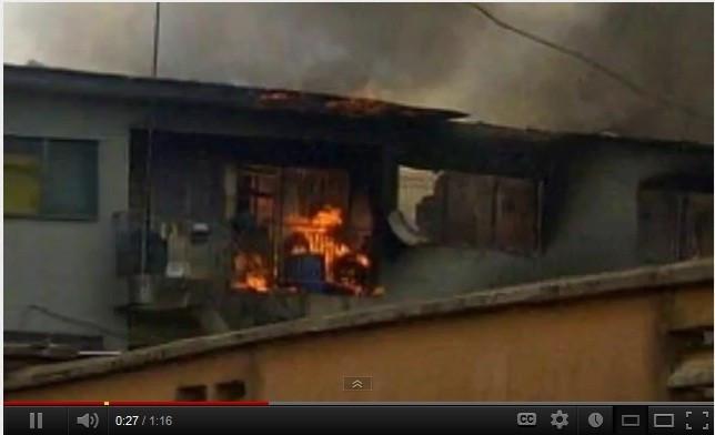 Plane crash in Lagos