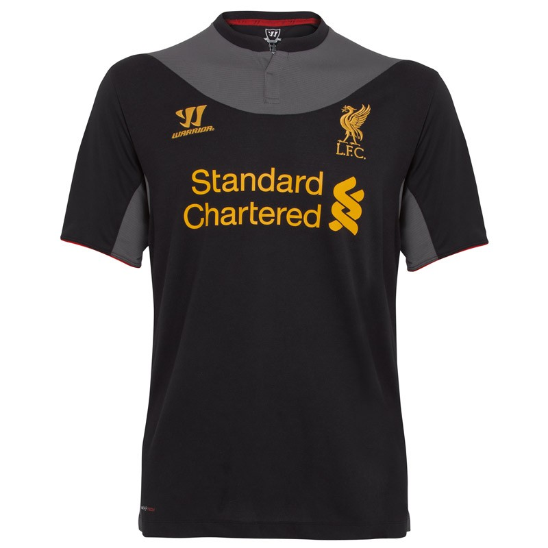 Liverpool Kit History 14: Liverpool Unveil 2012/13 Away Kit: Classic Liver Bird