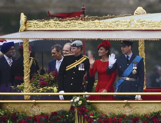 Queen's Diamond Jubilee Pageant: Did Kate go wrong?