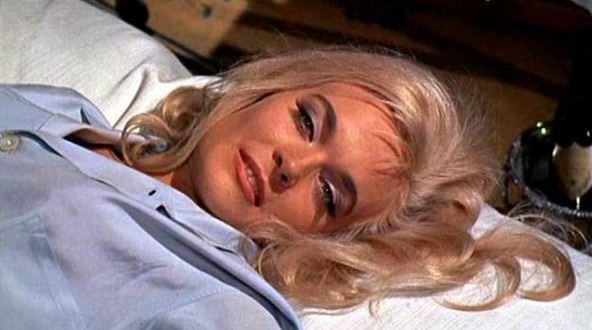 Shirley Eaton played the role of Jill Masterson