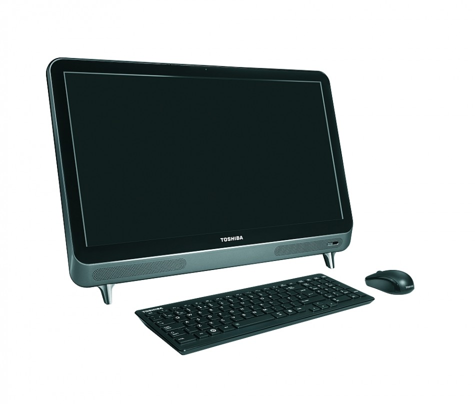 Toshiba LX830 desktop PC Expands All-in-One Range