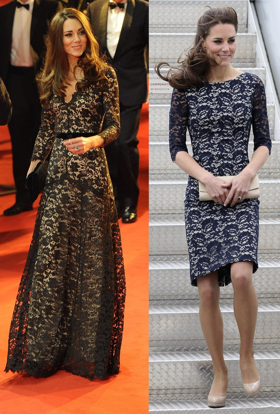 Is Kate Middleton showing a baby bump?