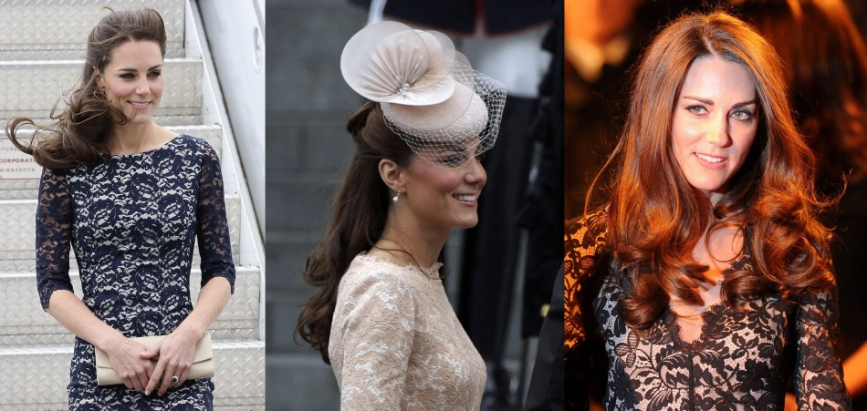 From Canada Tour to Diamond Jubilee: When Kate Middleton Looked Truly a Royal in Lace Dresses