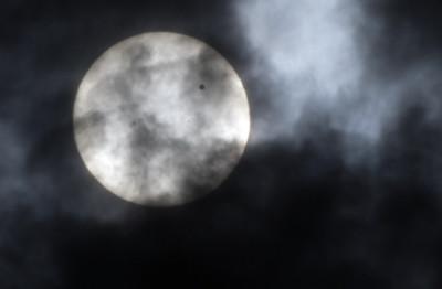Venus transition seen in Salt Lake City, U.S