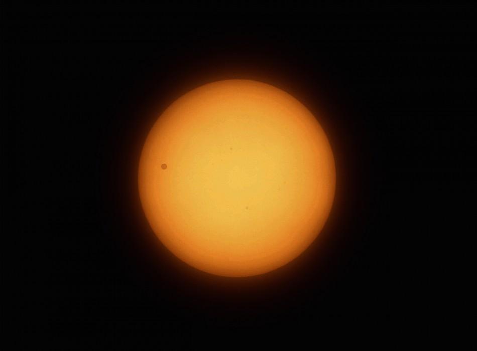 Venus transition seen in Beijing