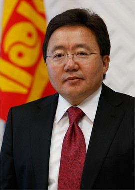 Mongolian President Honored in the 2012 UNEP Champions of the Earth