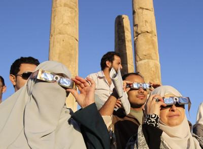 Venus Transition seen in Amman