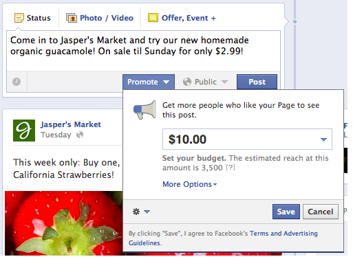 Facebook Sponsored Stories Brands