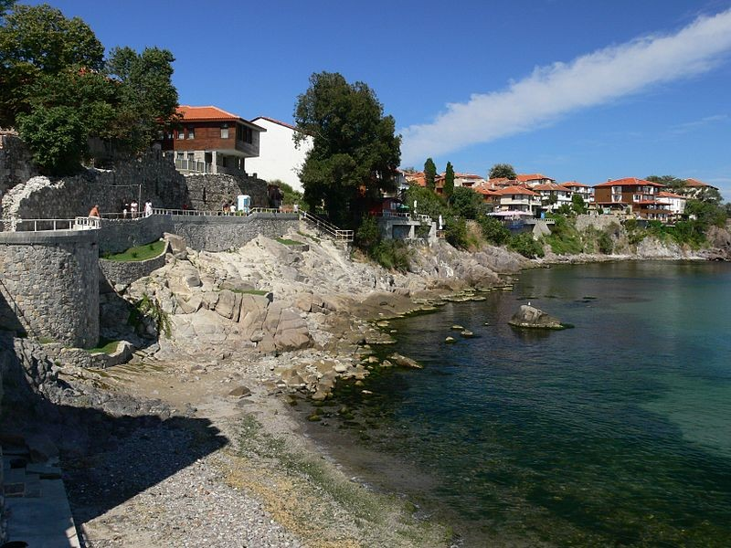 The Black Sea town of Sozopol in Bulgaria