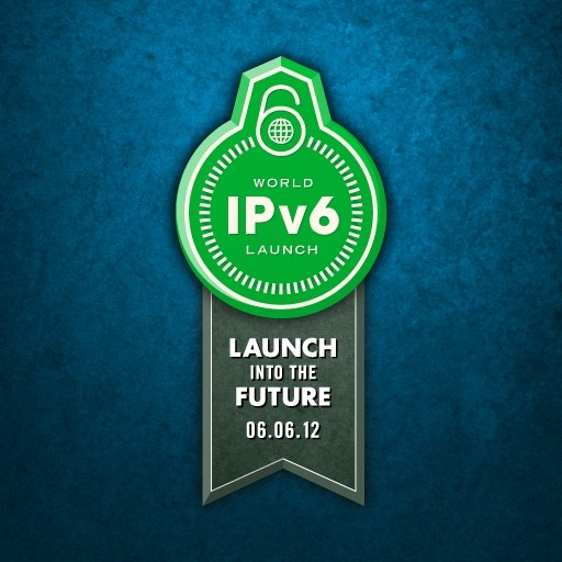 ipv6 world launch day logo
