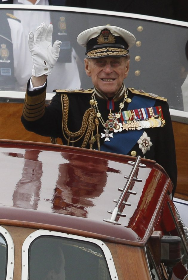 "Buckingham Palace has said Prince Phillip's condition has ""improved considerably"".  (Reuters)"
