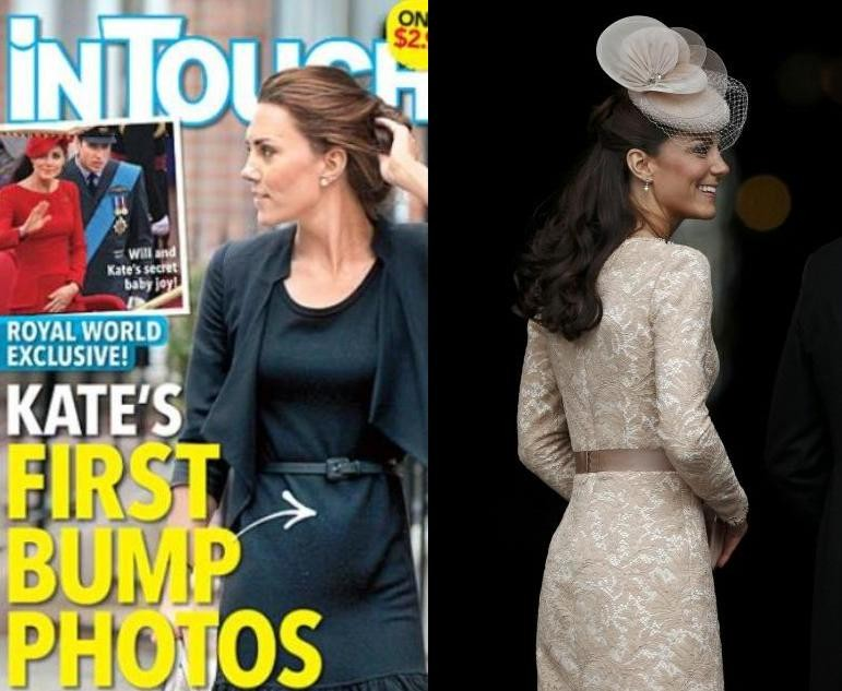 Kate Middleton Pregnant Rumors Resurface With Alleged Baby Bump Photo