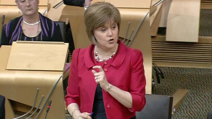 Health Secretary Nicola Sturgeon confirming to Parliament number of confirmed Legionnaires' cases at 24. (Parliament live)
