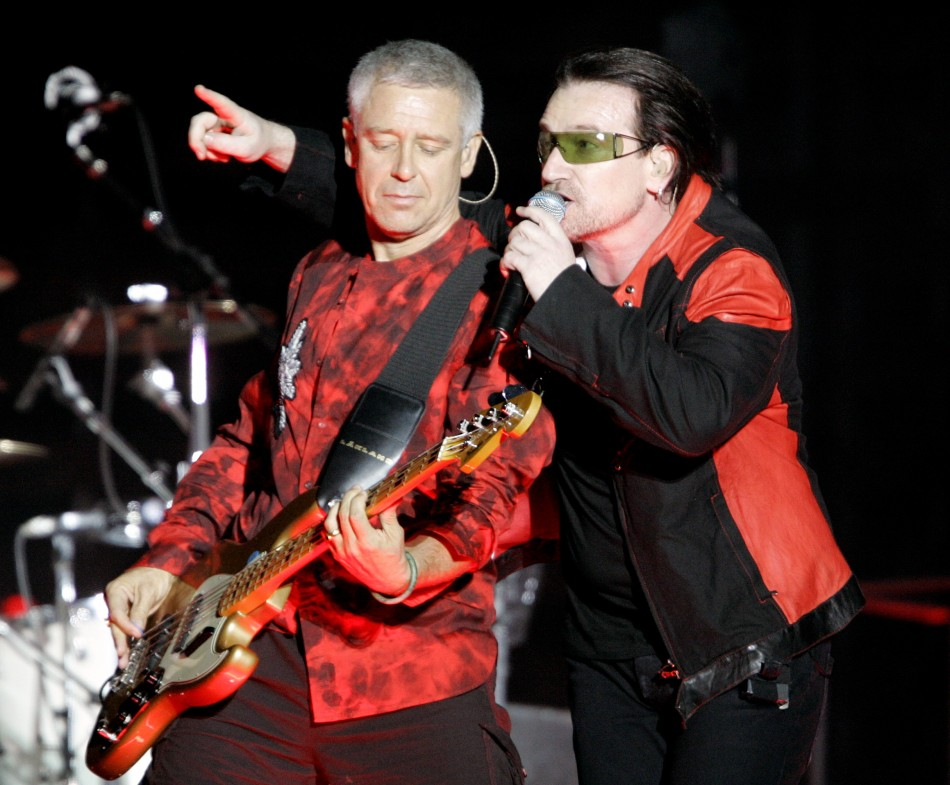 U2's Adam Clayton