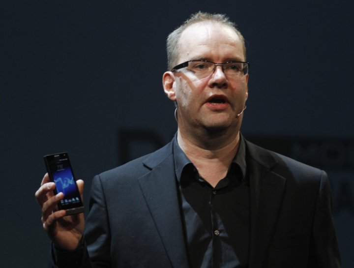 Steve Walker, Sony Mobile Chief Marketing Officer