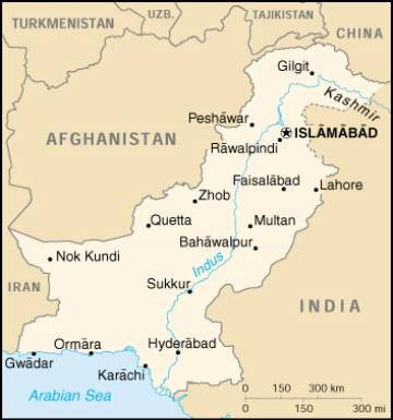 A bus explosion killed at least 18 people and injured dozens in northwest Pakistan.