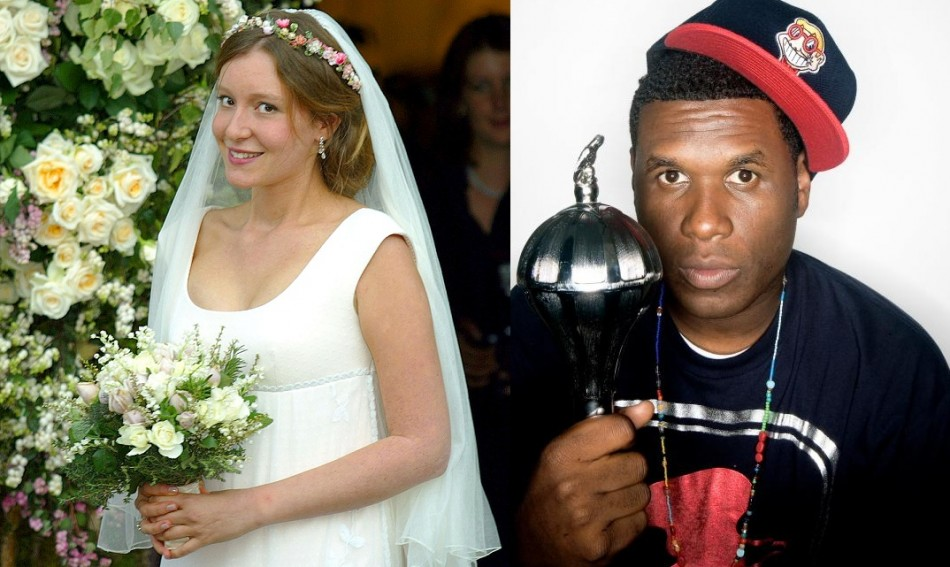 Kate Goldsmith and Jay Electronica