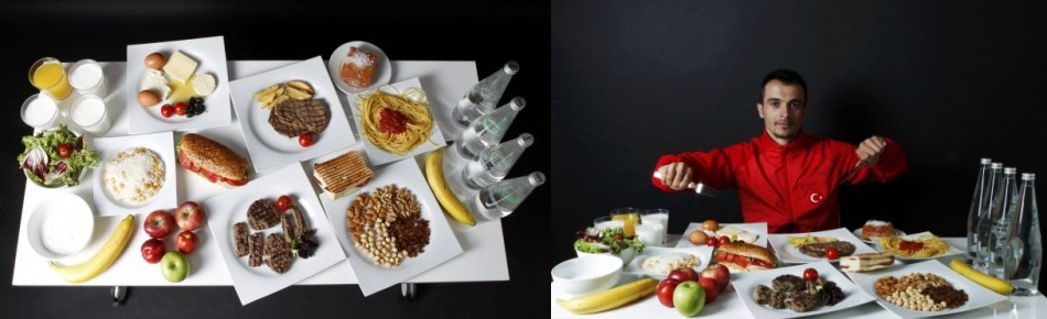 London 2012 Olympics Athletes Rich Daily Diet