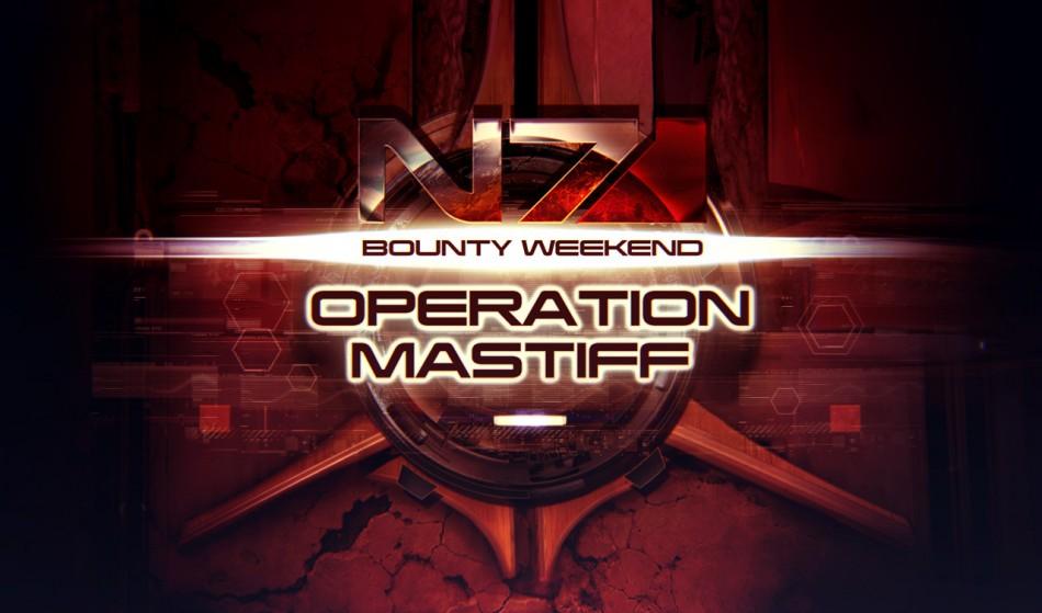 'Mass Effect 3: Operation Mastiff' N7 Multiplayer Weekend
