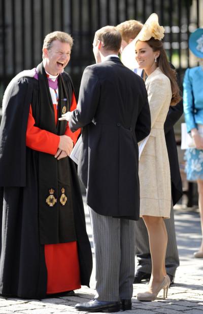 Kate Middleton R in Her LK Bennett Nude Pumps