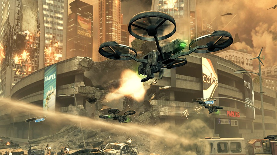 Call of Duty: Black Ops 2 - Unmanned Drones
