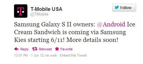 Samsung Galaxy S2 at T-Mobile