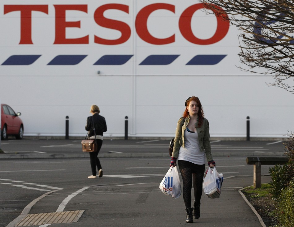 Tesco Reports   Rise In Christmas Like For Like Sales