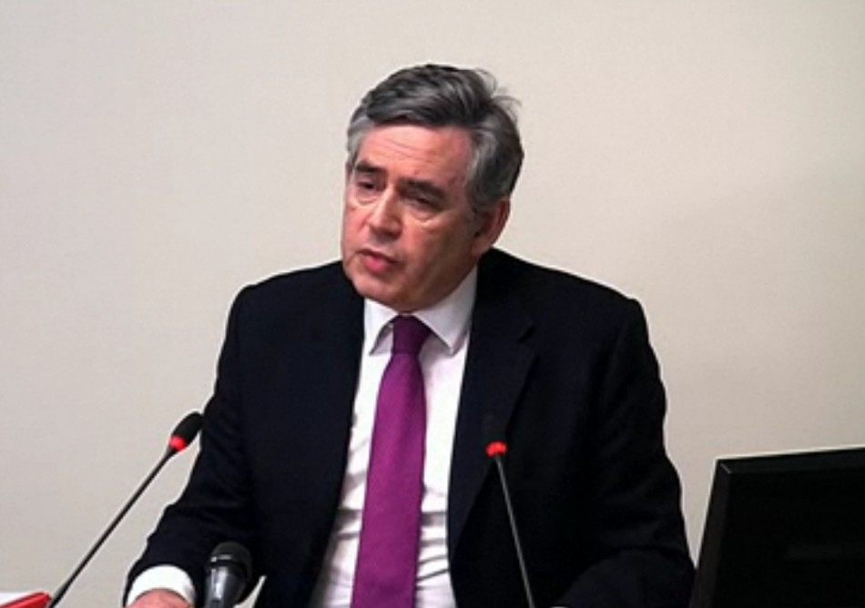 Gordon Brown Leveson