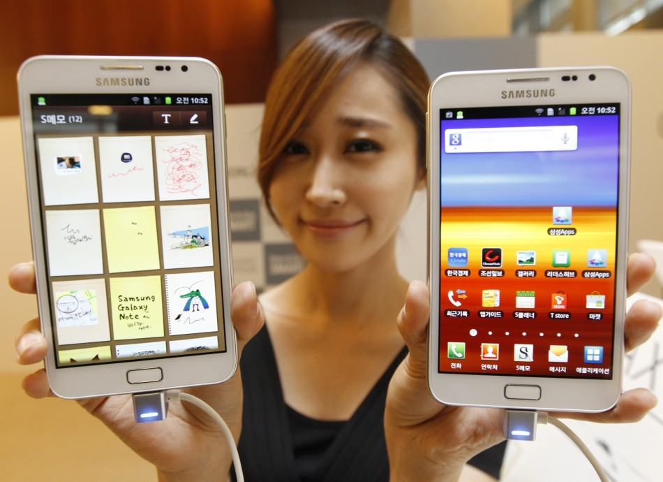 Samsung Galaxy Note Android 4.0