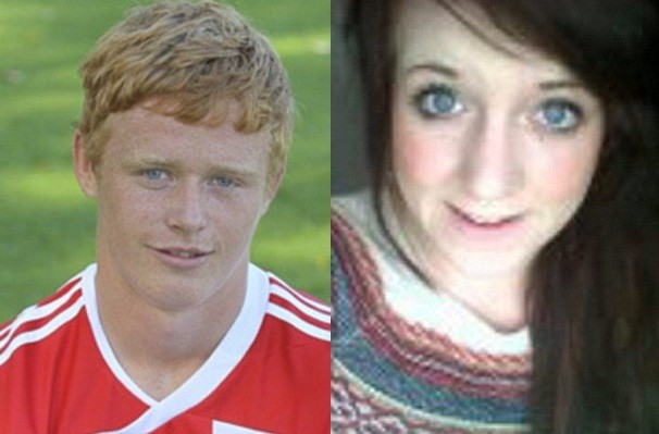 Stoke City's Andrew Hall has been arrested following the death of Megan-Leigh Peat (Stokecity.com/Facebook)