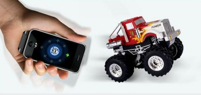 Top 10 Things to Connect to Your iPhone Dexim AppSpeed Gyro Controlled Monster Truck