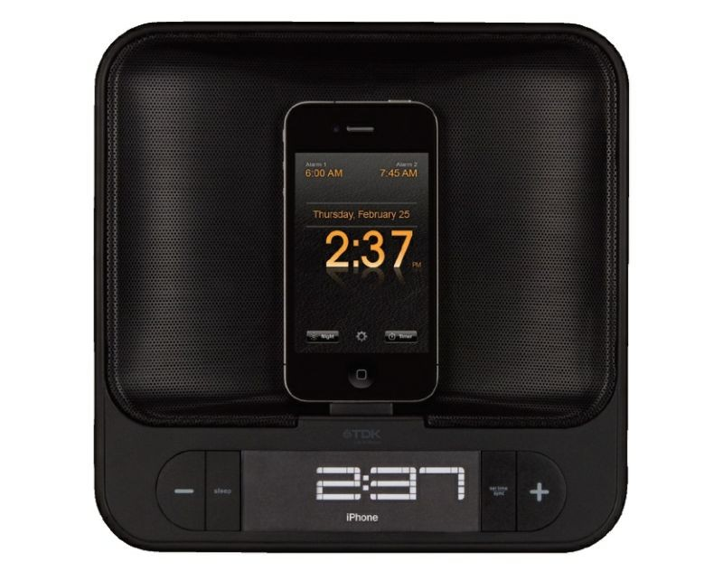 Top 10 Things to Connect to Your iPhone TDK TAC4525 Dual Charging Alarm Clock