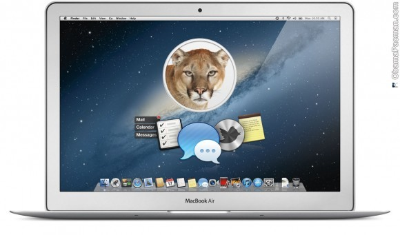 Mac OS X 10.8 Mountain Lion WWDC 2012