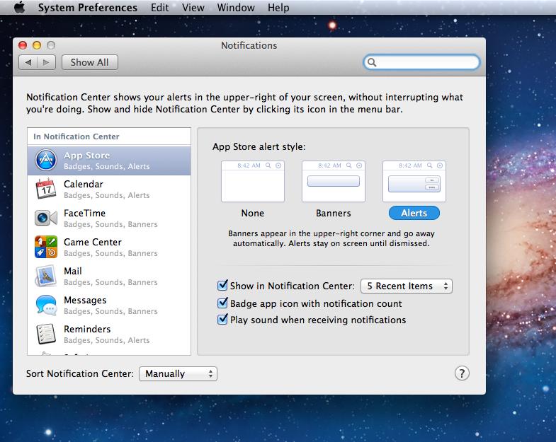 OS X 10.8 Mountain Lion
