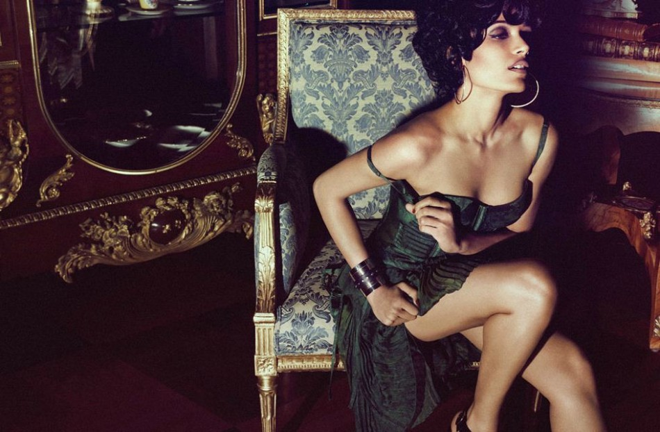 Freida Pinto on the Cover of Popular American Indie fashion magazine Flaunt's July Issue