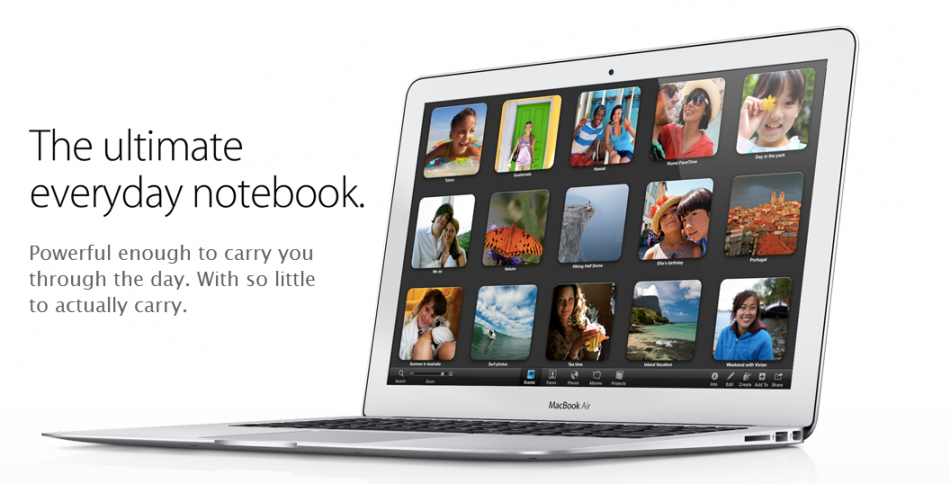 MacBook Air WWDC 2012