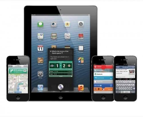 iOS 6 WWDC 2012
