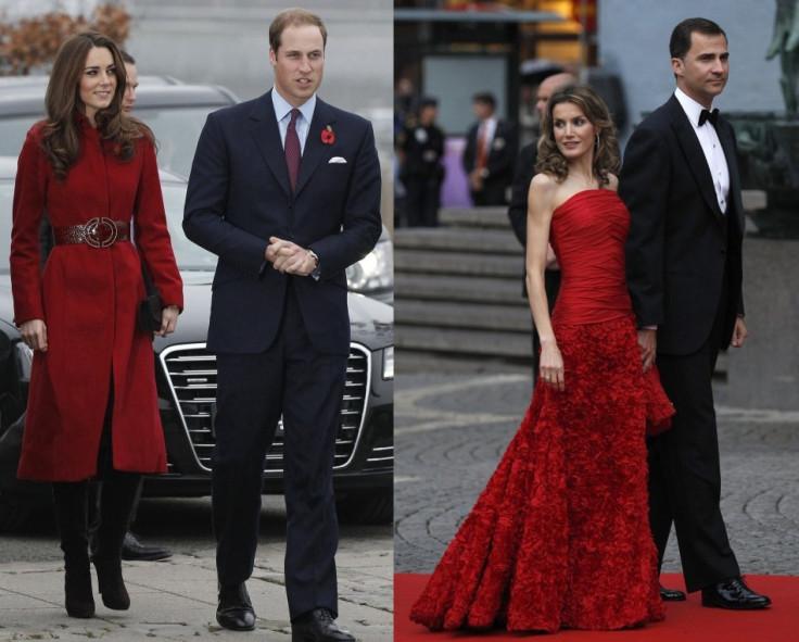 Princess Letizia and Kate Middleton