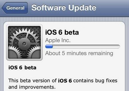 iOS 6 Beta how to Download