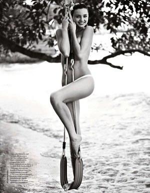 Miranda Kerr in Vogue UK